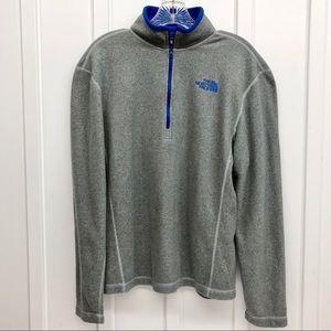 The North Face Men's 1/2 Zip Fleece Pullover Sz S
